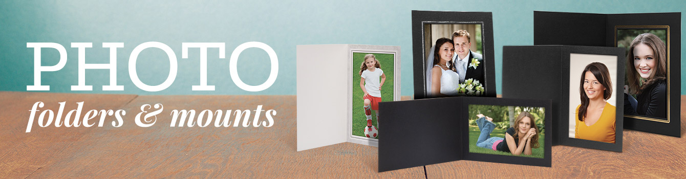 Photo Folders & Photo Mounts
