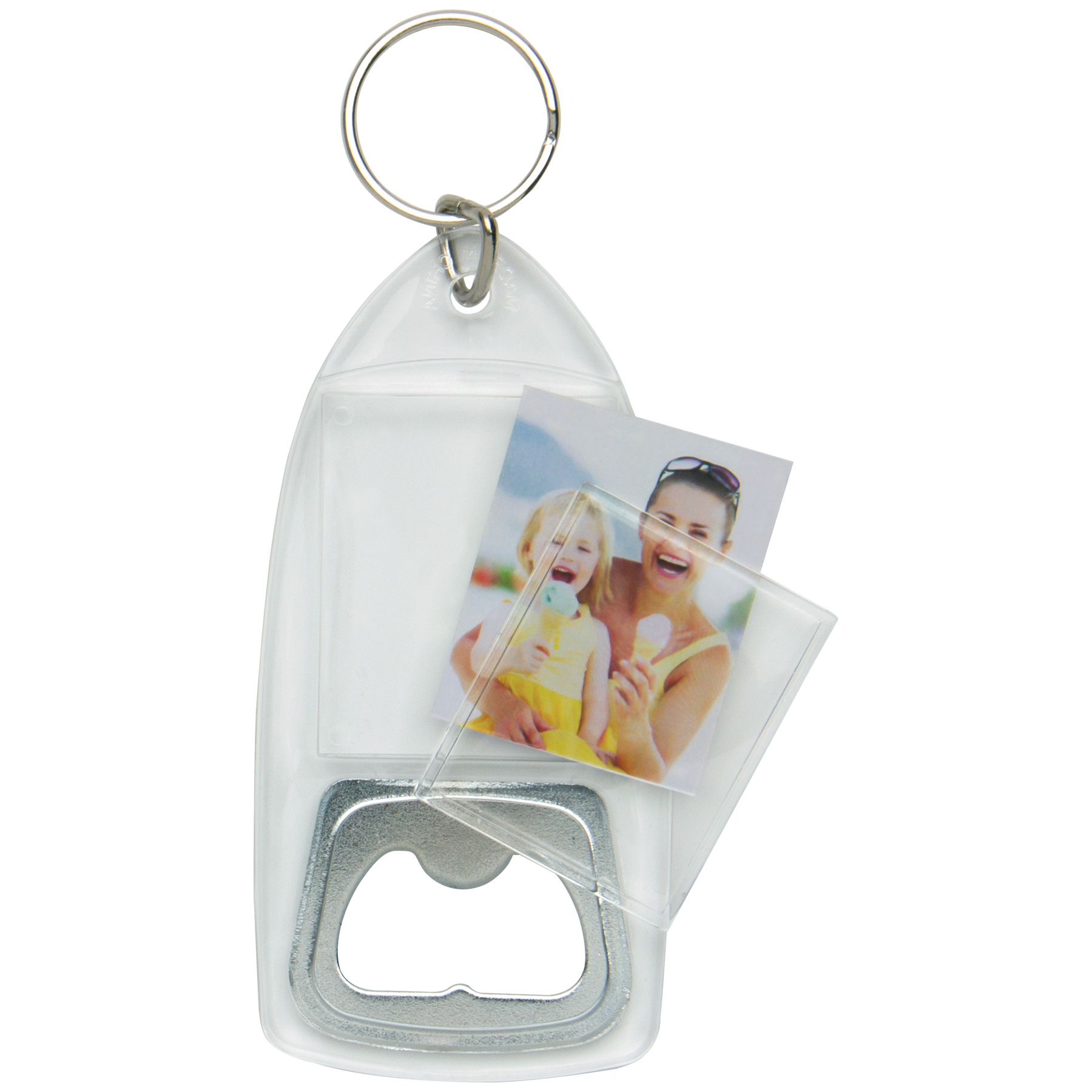 wholesale snap in photo keychains bottle opener keychain neil enterprises. Black Bedroom Furniture Sets. Home Design Ideas