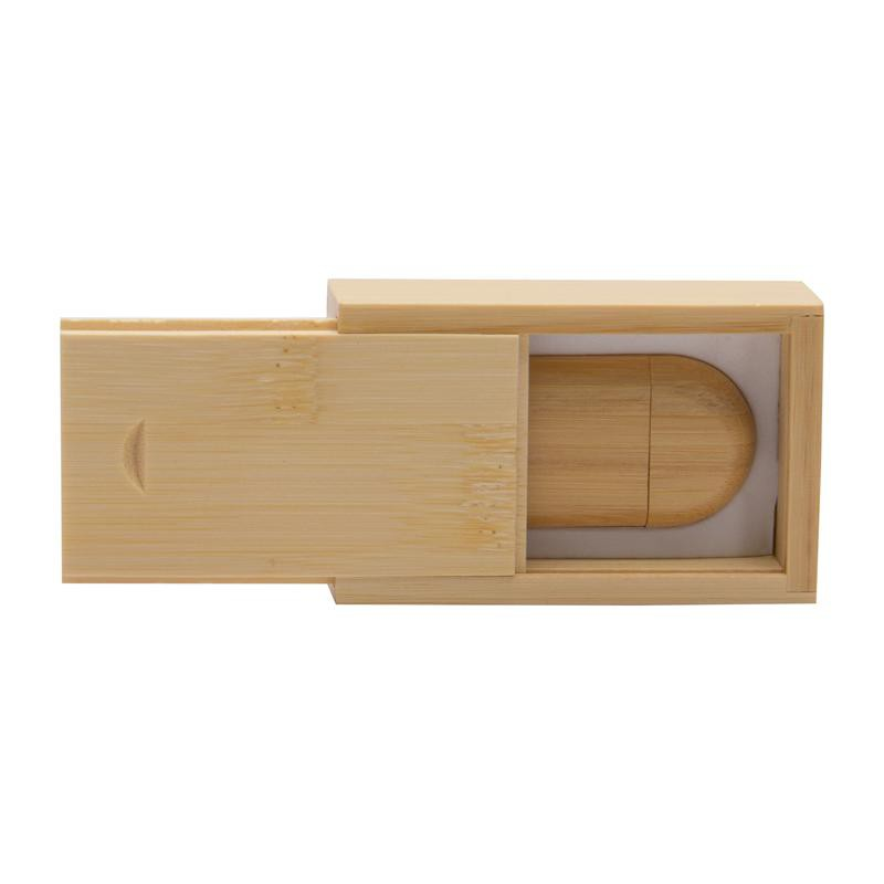Bamboo 8GB Flash Drive and Box Set
