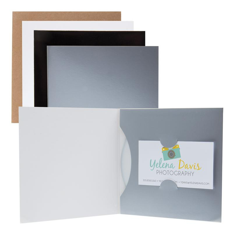 Wholesale CD/DVD Holders - Paper CD/DVD and Business Card Sleeves ...