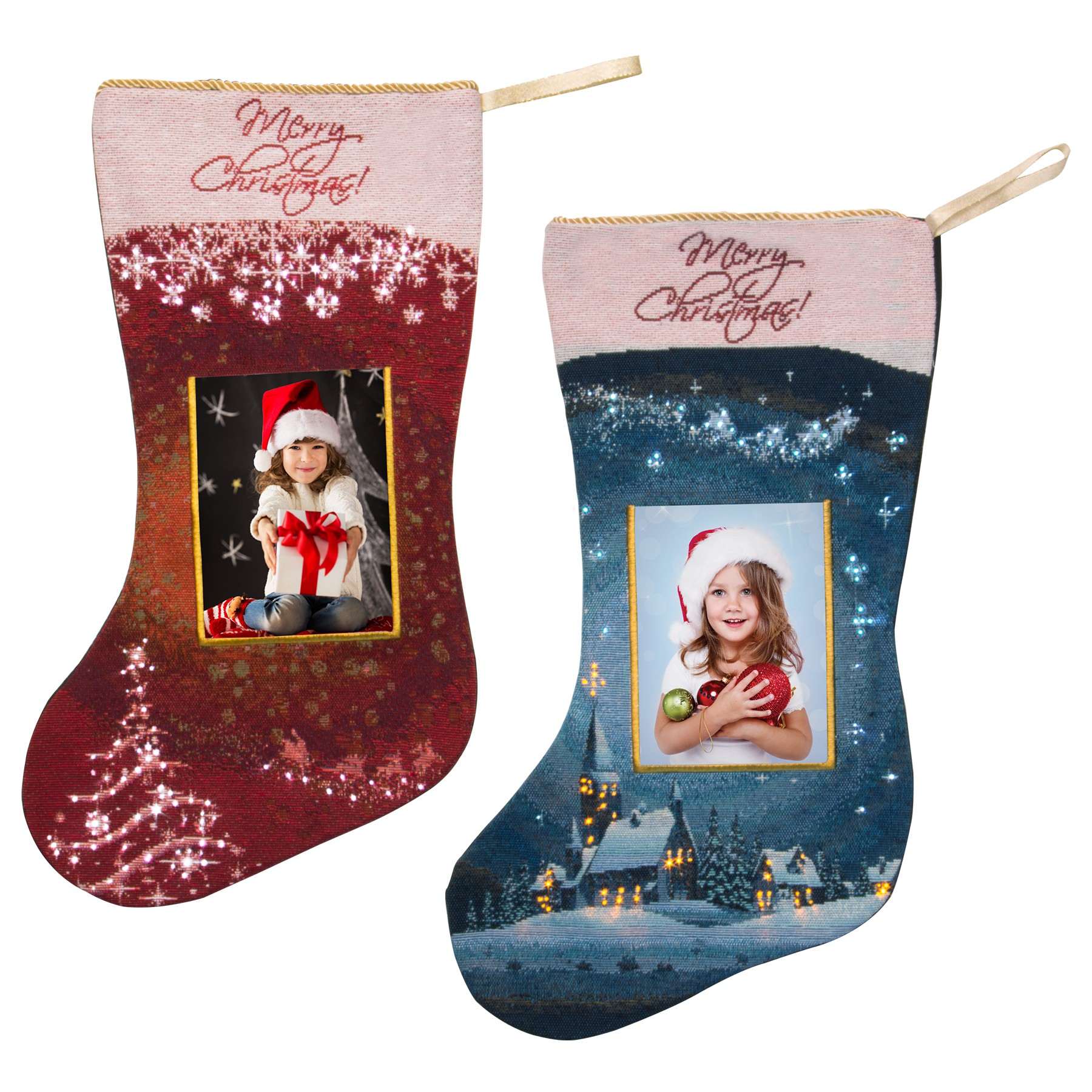 wholesale light up photo christmas stockings neil enterprises