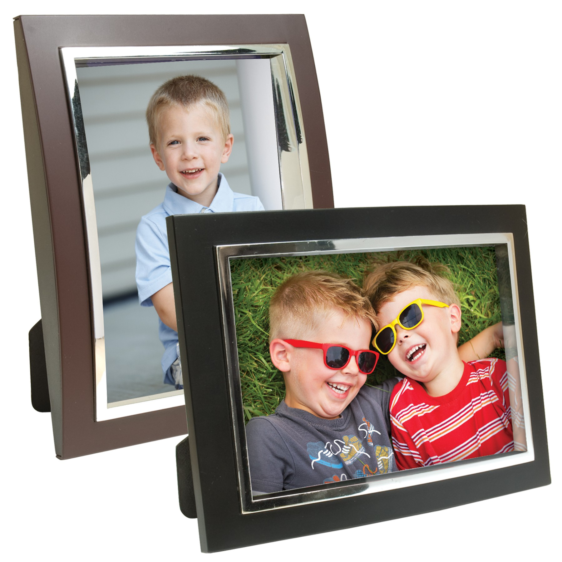 Plastic curved picture frames with inset bezel neil enterprises plastic curved picture frames with inset bezel jeuxipadfo Gallery