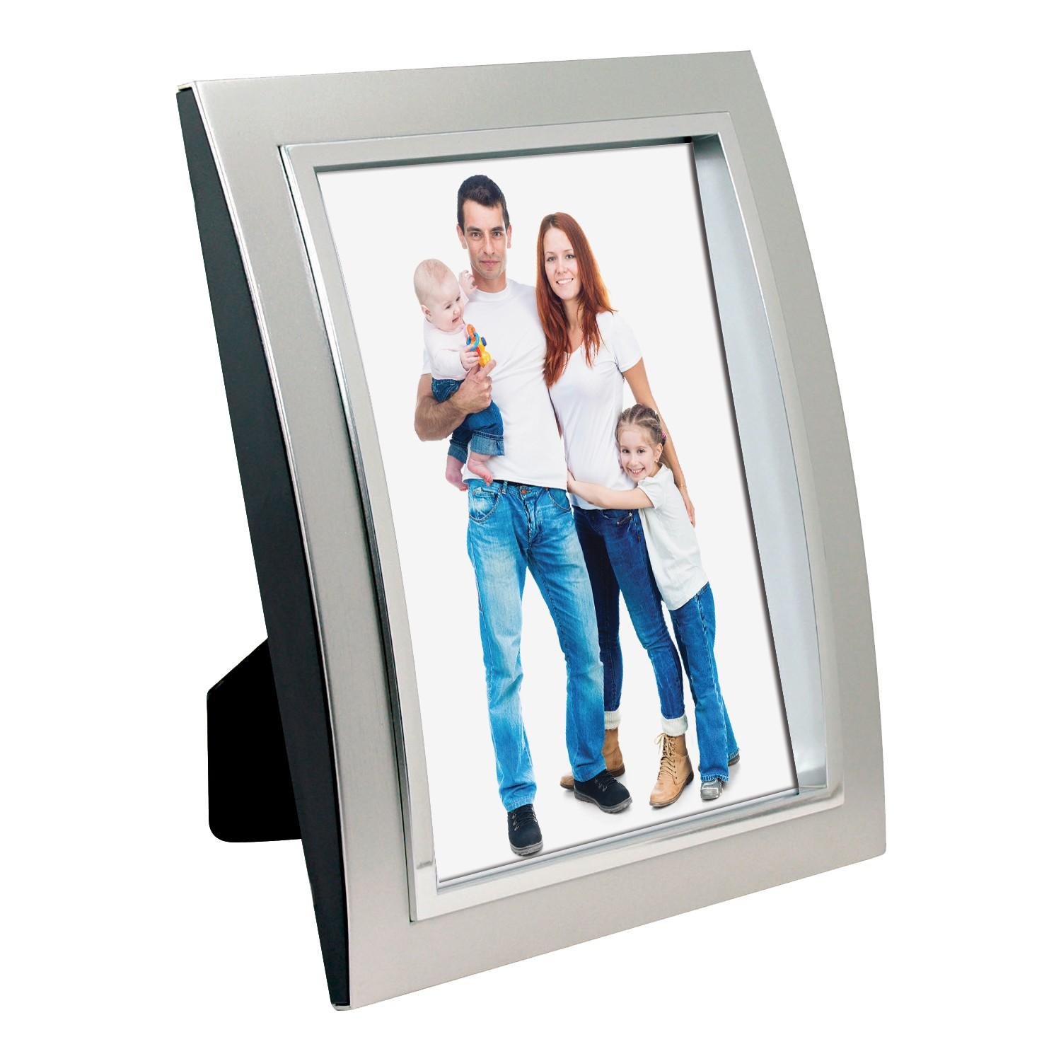 Wholesale 4x6 and 5x7 silver plastic picture frames neil enterprises wholesale plastic silver picture frame jeuxipadfo Image collections