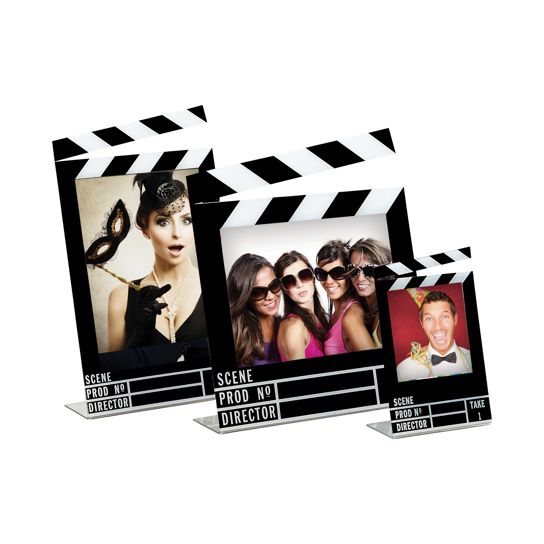 Wholesale Acrylic Clapboard Picture Frames for Movie theme special ...