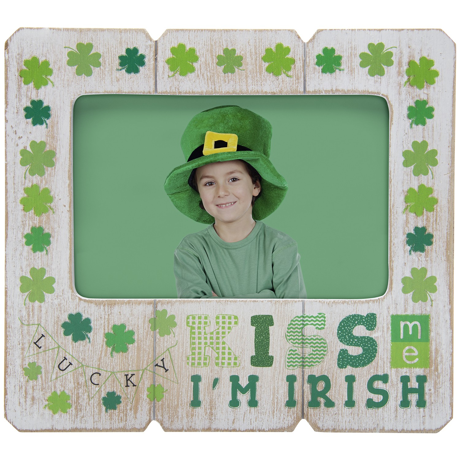 St. Patrick\'s Day Wood Picture Frame