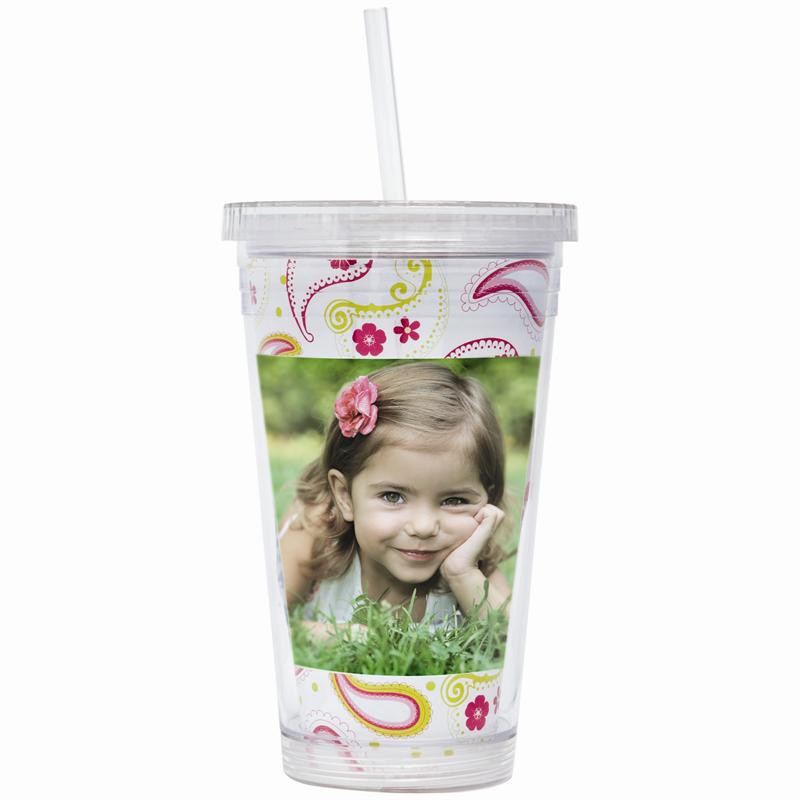 Wholesale Acrylic Photo Tumblers