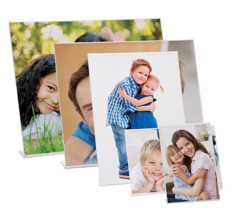 Wholesale Picture Frames - Acrylic Bent Easel Frames - Neil ...