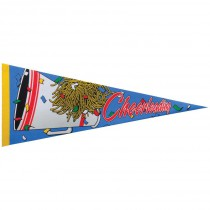 Cheerleading Photo Pennant