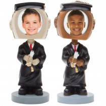 Graduate Photo Bobble Head