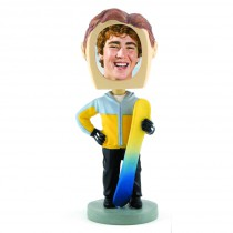 Snowboarder Photo Bobble Head