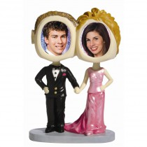 Prom Couple Photo Bobble Head