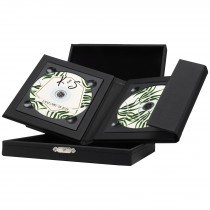 Supreme Double CD/DVD Folio with Leatherette Box