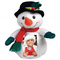 Mr. Frost Plush Snowman Photo Frame