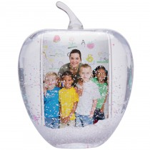 Apple Photo Snow Globe