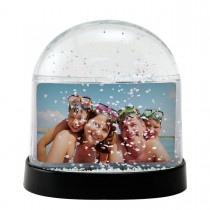 Wholesale Horizontal 3x2 Photo Snow Globes Plastic