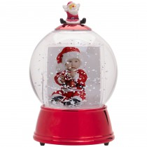 Wholesale Plastic Santa Photo Snow Globe