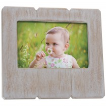 Custom Distressed Wood Picture Frame
