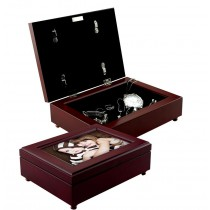 Wood Photo Jewelry Box