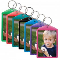 Translucent Sparkle Photo Keychains