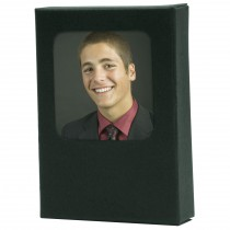 View Front Wallet Photo Box