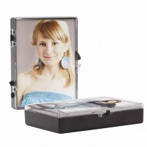 Plastic Wallet Photo Box