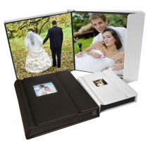 Overlapping Cover Self-Stick Photo Albums