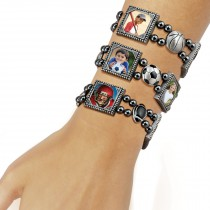 Wholesale Sports Photo Charm bracelets bulk for professional photographers