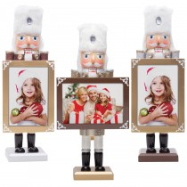 Wholesale Glitter Photo Nutcracker Picture Frames