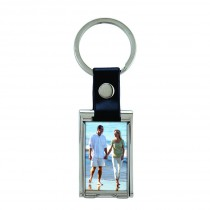 Deluxe Metal Photo Keychain