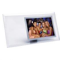 Horizontal Glass Picture Frame