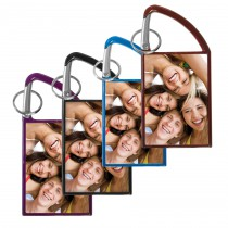 Double Photo Carabiner Keychain