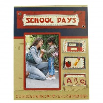 School Days Scrapbook Picture Frame