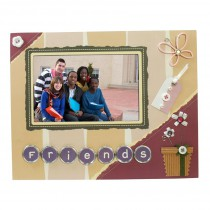 Friends Scrapbook Picture Frame