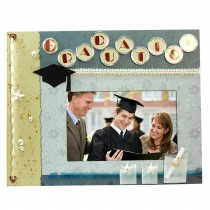 Graduation Scrapbook Picture Frame