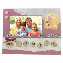 Family Scrapbook Picture Frame