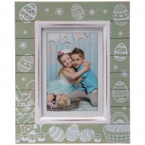 Wholesale Green Wood Easter Picture Frames