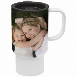 15 oz. Dye Sublimation Travel Mug