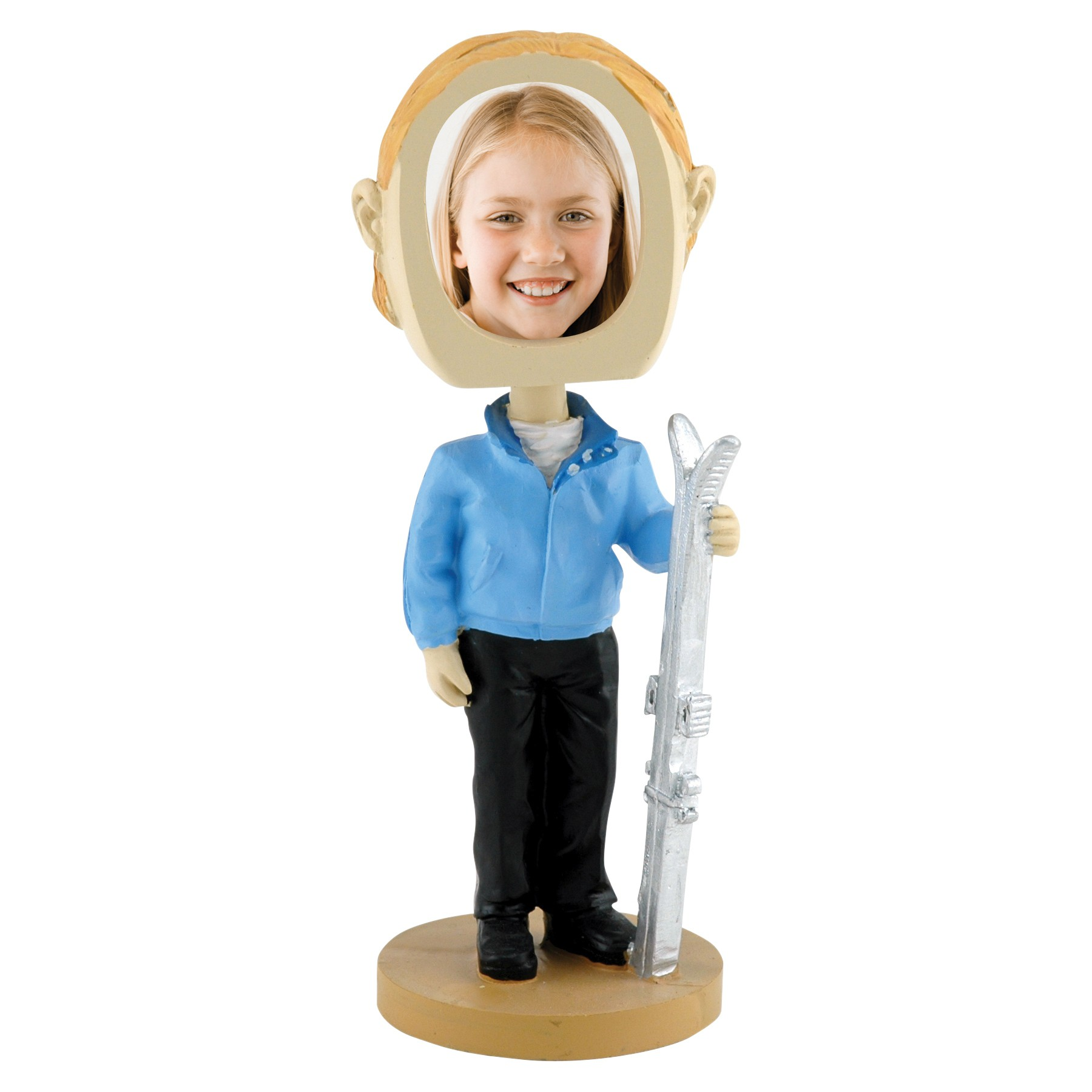 wholesale skier photo bobble head for professional photographers