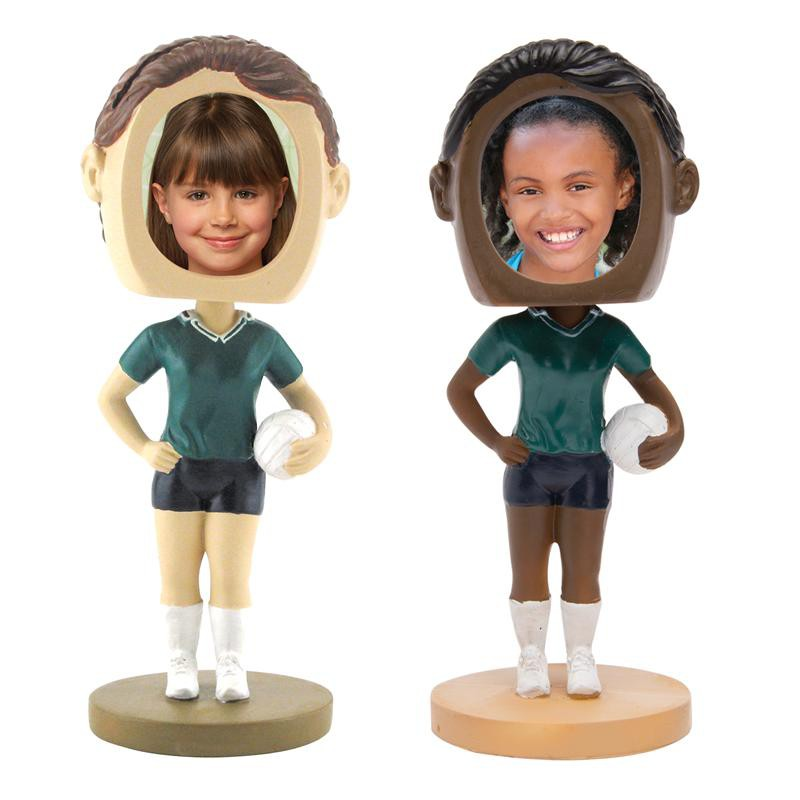 Neil Enterprises - Wholesale Volleyball Photo Bobble Heads