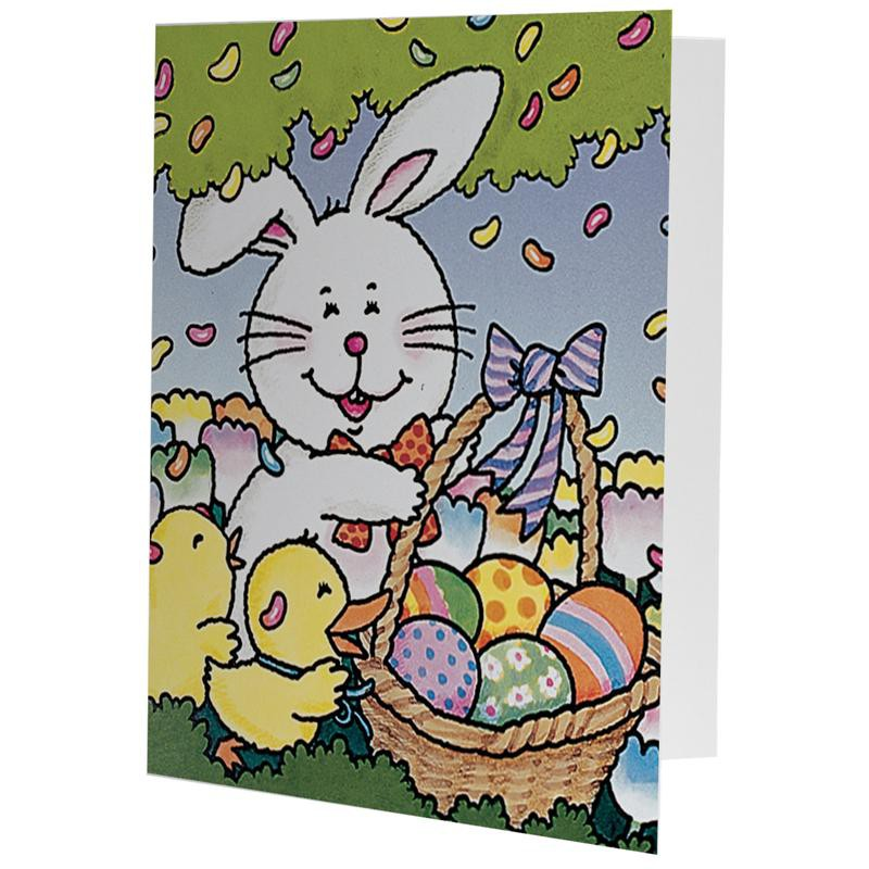Easter Bunny Basket Photo Mounts