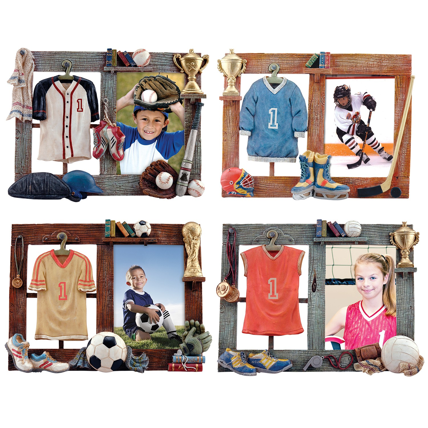 Wholesale Sports Resin 3.5x5 Picture Frames