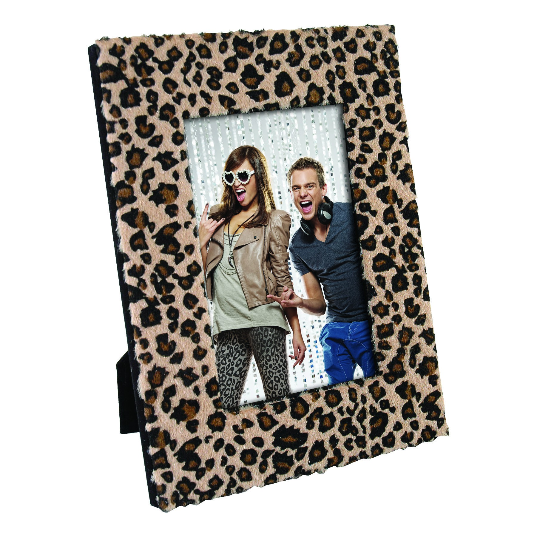 Leopard Furry Picture Frames