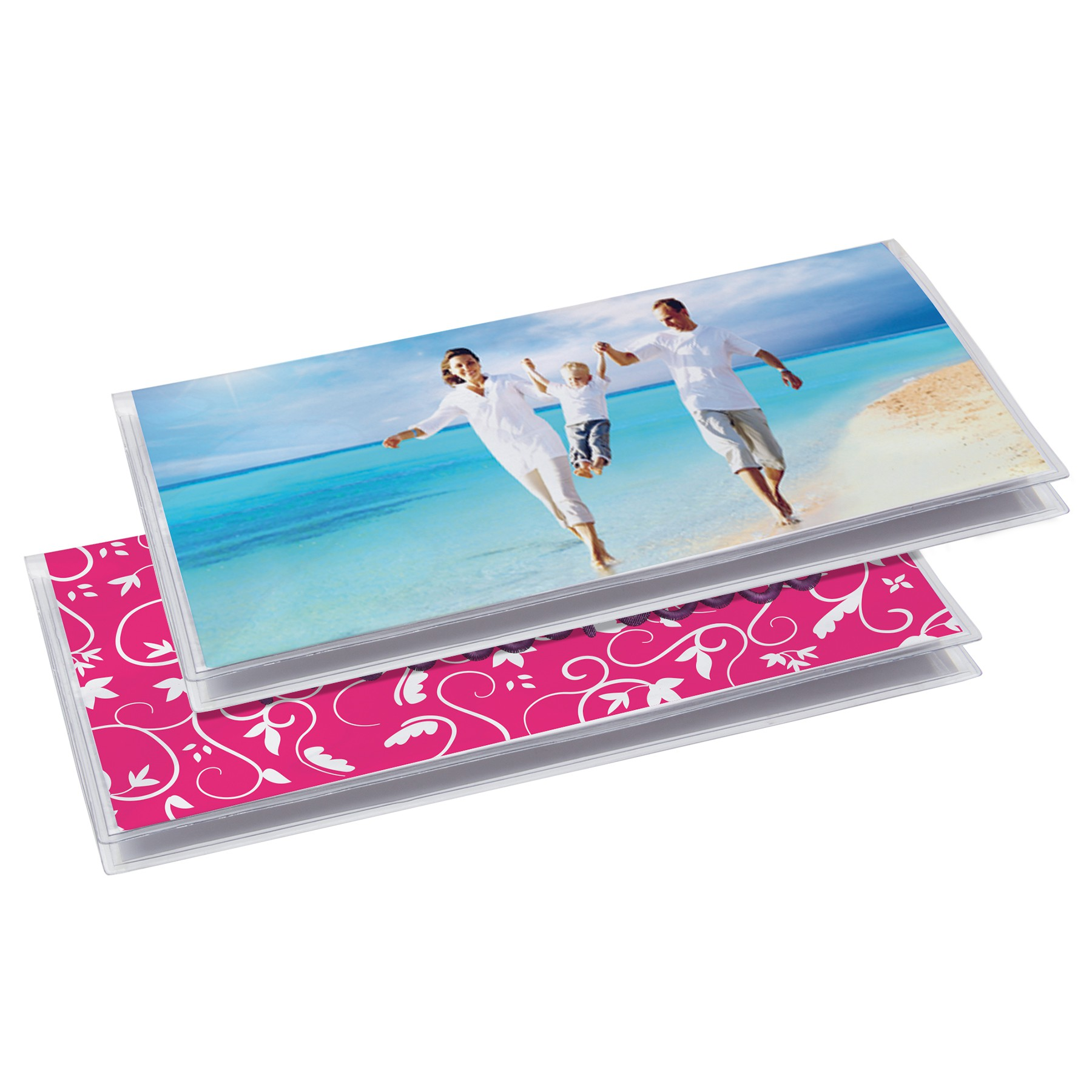 Clear Checkbook Cover