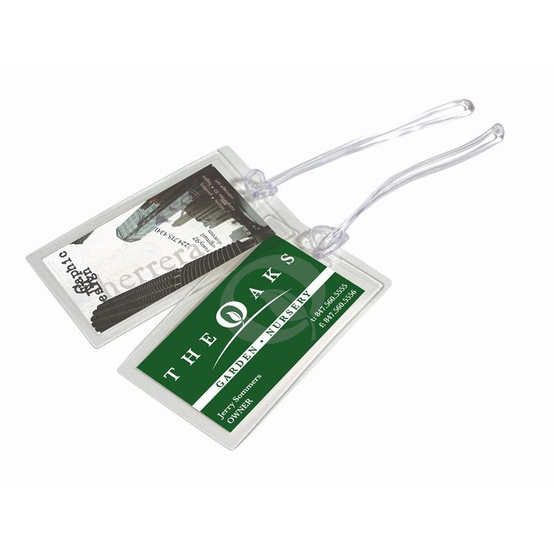 Luggage Tag Laminating Pouch