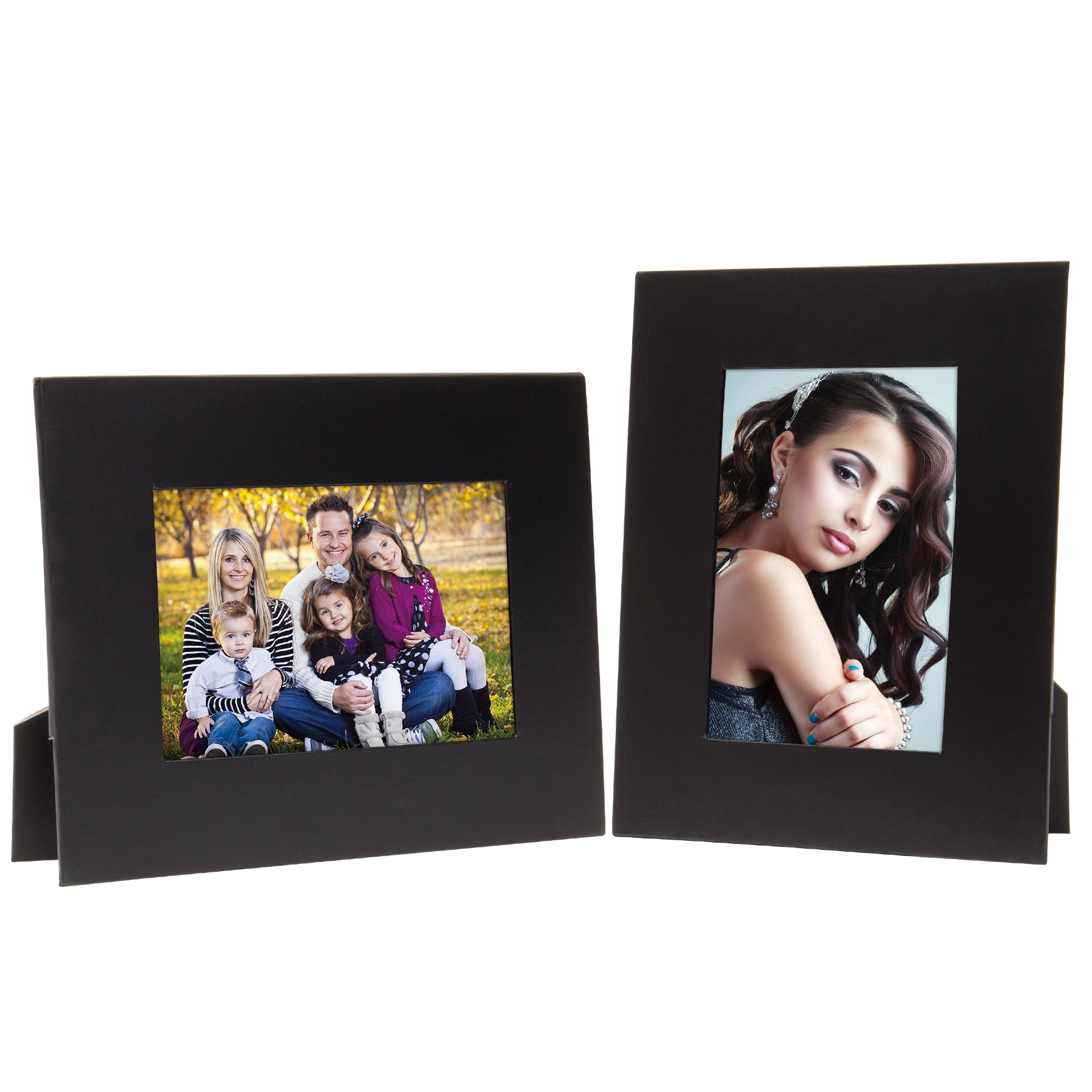 Black Paper Picture Frame