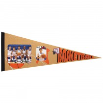 Basketball Photo Pennant