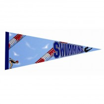 Swimming Photo Pennant