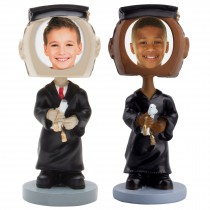 wholesale graduate photo bobble head figurine picture frame graduation
