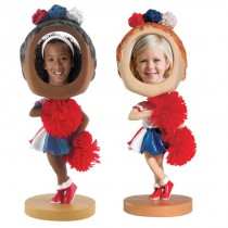 Cheerleader Photo Bobble Heads