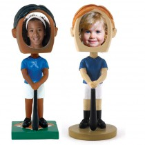 Softball Photo Bobble Heads